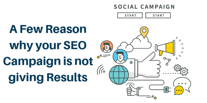 reasons for SEO results