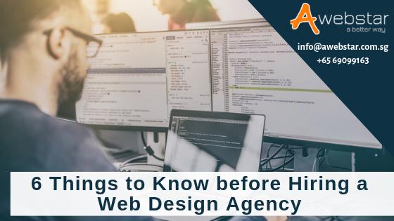 hiring an agency