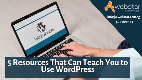 resources teaches you wordpress pro