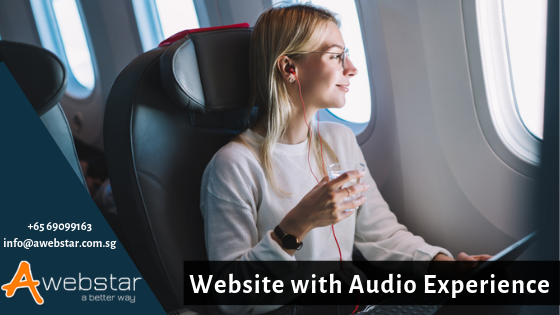 Why Don't You Design Your Website For Audio Experience