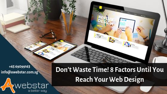 web design factors
