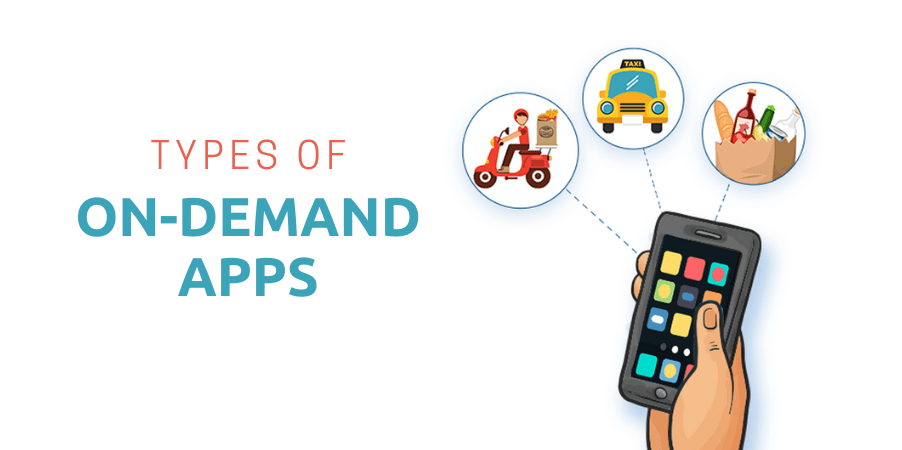Types of On-Demand Apps