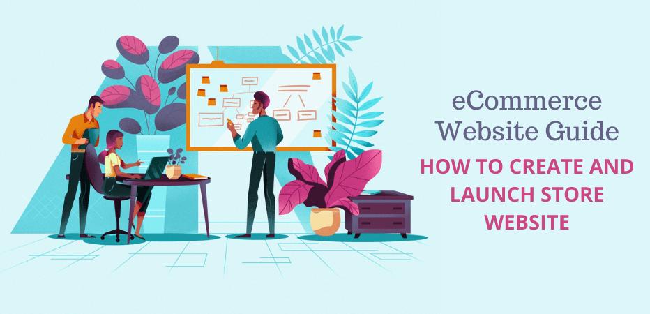 eCcommerce website Design-Create and Launch