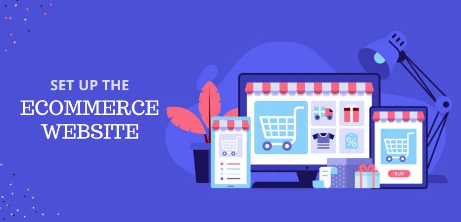 Set up eCommerce Website