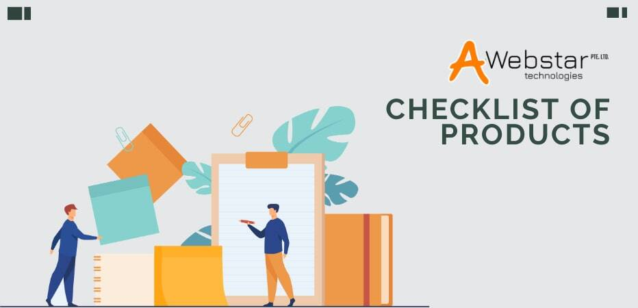 Checklist of Products